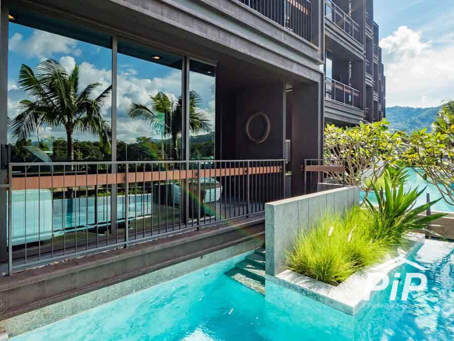 2 Bedroom with Private Pool Access in Rawai
